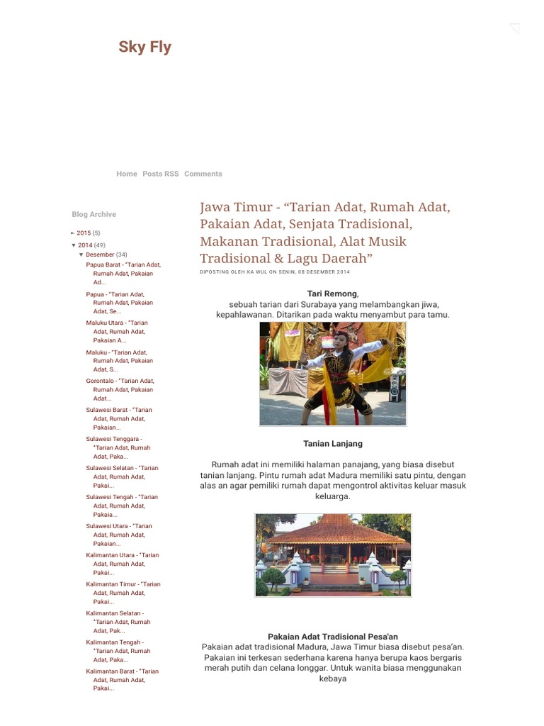 Made By Counterpoint Magazine Rumah Adat Banten Brainly