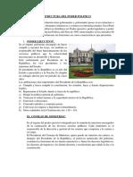 Estructura Del Poder Politico
