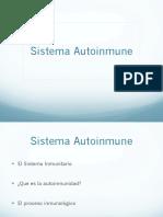 Sistema Autoinmune PDF
