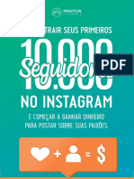 eBook 10 Mil Seguidores Instagram