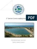 1st Samian Coarse Fishing Tournament