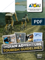 Indian Adventure Tourism Guidelines Oct 2