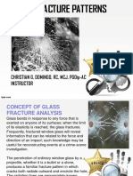 Glass Fracture Analysis