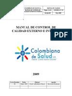 Manual de Control Interno y Externo