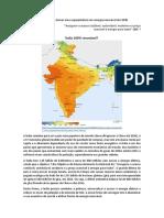 Índia planeja se tornar uma superpotência em energia renovável até 2030