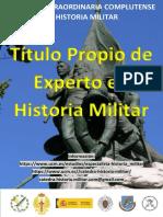 Título Propio Historia Militar UCM. Información