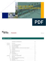 King County Metro Transit Facilities Guidelines