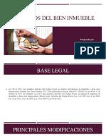 Impuestos Del Bien Inmueble Power Point Derecho Financiero y Tributario