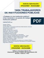Anuncio Cursos PDF