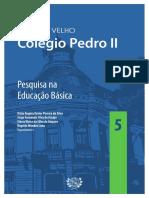 Volume 5 Pesquisa Na Educação Básica