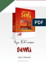 Ilya Efimov Bawu Manual ENG