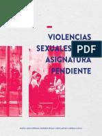 Violencias Sexuales Una Asignatura Pendiente Guia Para Afrontar Las Violencias Sexuales en Las Universidades ONLINE