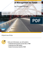 SAP Promotion Management Business Process Flow