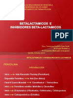 Betalactamicos e inhibidores de betalactamicos