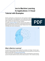 An Introduction to Machine Learning Theory and Its Applications_ a Visual Tutorial With Examples