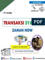 Transaksi Syariah Zaman Now