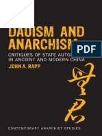 Daoism and Anarchism (Contemporary Anarchist Studies)