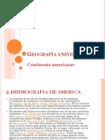 Diapositiva Geografia u