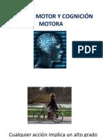 Control Motor y Cognición Motora