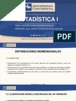 distribuciones bidimencinales