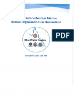Review Into VMR Organisations in QLD