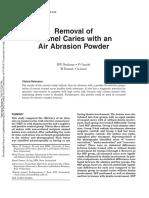 Air Abrasion