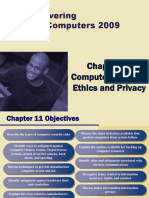Computer Security, Ethics and Privacy