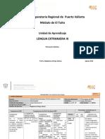 Lengua Extranjera III a Mtra. Magdalena Ortega 2016B