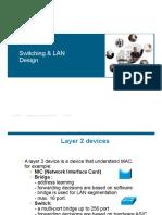 1- Switching Basics & Lan Introduction