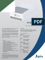 Agilis Alb290 C-band Buc 400w
