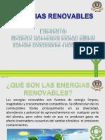 Energias renovablews