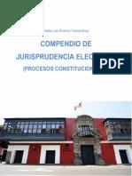 Compendio de Jurisprudencia Electoral (Procesos Constitucionales)