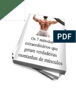 7 Metodos Para Gerar Montanhas de Musculos