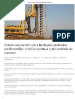 Estudo Comparativo Para Fundações Profundas _ Engeduca