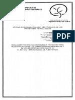 REGLAMENTO DE EDUCACIÓN CONTINUA Y RE-CERTIFICACIÓN DE CONSEJEROS PROFESIONALES Y MENTORES