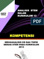 LK 3 as-Analisis STEM Dalam Kurikulum 2013