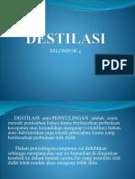 DESTILASI klmpok 4