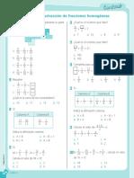 Adicion y Sustraccion de Fracciones Homogeneas