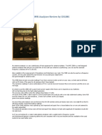 Mfj 259b Hf Vhf Swr Analyzer Review by Zs1jhg