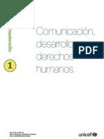 Comunicación, Desarrollo y Derechos Humanos