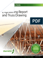 Barrette Engineering Report Truss Drawing Interpretation Guide