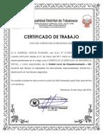 Certifica Dos