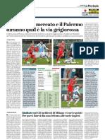 La Provincia Di Cremona 22-01-2019 - Cremonese