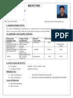 Govarthan Resume