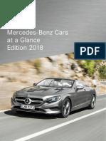 Mercedes Benz Cars Ueberblick 2018 En