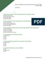Pakistan Studies_Affairs_ Most Important MCQs (Set I)