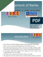 Public Bank & Private Bank - Management of Banks