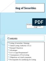 Copy of Listing of Securities New