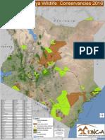 Kenya-Conservacies Map 2016