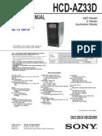 HCD-AZ33D